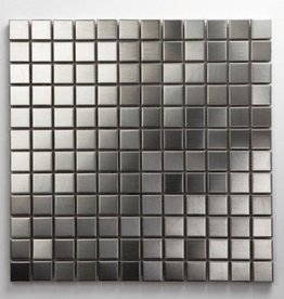 Stainless Matal mosaic tiles 1. Choice in 30x30x1 cm