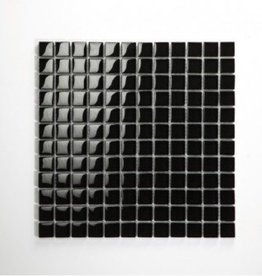 Nero Black Glas Mozaïek Tegels 1. Keuz in 30x30x1 cm
