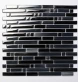Palermo Black szklana mozaiki