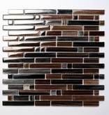 Palermo Brown szklana mozaiki