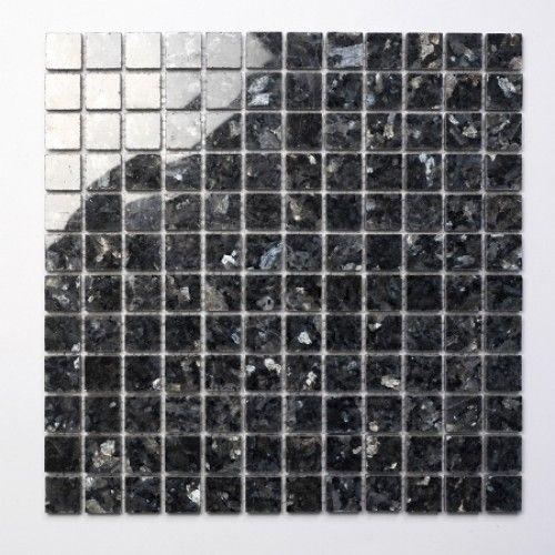 Blue Pearl Natural stone mosaic tiles