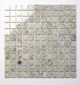 Kashmir White Naturstein Mosaikfliesen 1.Wahl in 30x30 cm