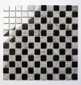 Star Galaxy Kashmir White kamienia naturalnego mozaiki 1. wybór w 30x30x1 cm