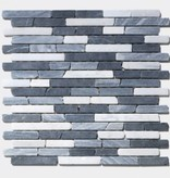 France Carrara Marquina kamienia naturalnego mozaiki