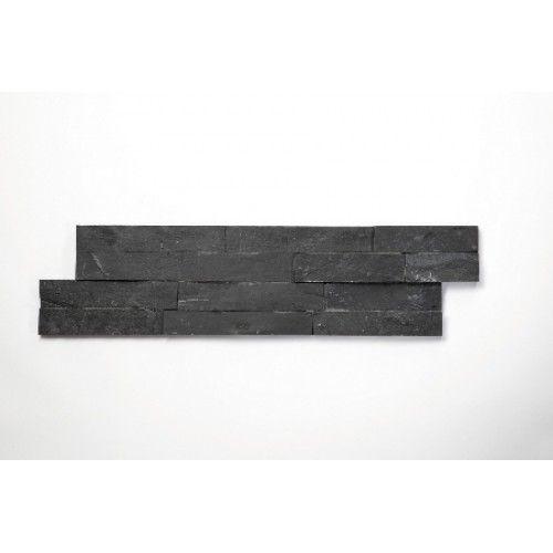 Brickstone Lupek Czarny cegły kamienia naturalnego