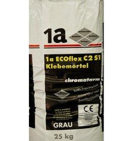 1-a Eco-Flex Fliesenkleber & Natursteinkleber Grau 25 Kg