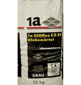 1-a Eco-Flex Natural Stone Tile Adhesive Grey 25 Kg