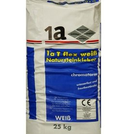 1-a T-Flex Natural Stone Adhesive White 25 Kg
