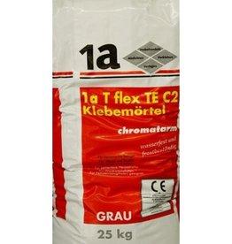 1-a elastyczna płytka C2 TE klej szary 25 kg