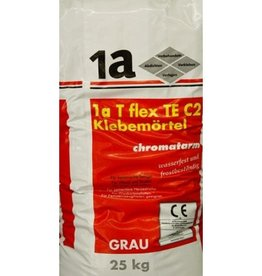 1-A TE C2 flexible Tile Adhesive Grey 25 Kg