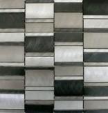 Selenite Metal Mosaïque Carrelage
