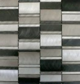 Selenite Matal mosaic tiles 1. Choice in 30x30x1 cm