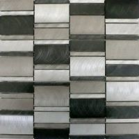 Selenite Matal mosaic tiles