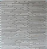 Superslim Biancone kamienia naturalnego mozaiki