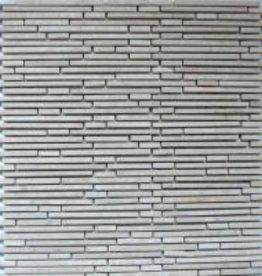 Superslim Biancone kamienia naturalnego mozaiki 1 wybór w 30x30x1 cm