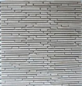 Superslim Biancone Natural stone mosaic tiles 1. Choice in 30x30x1 cm