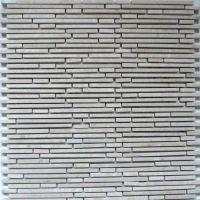Superslim Biancone Natural stone mosaic tiles