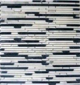 Superslim Carrara Naturstein Mosaikfliesen 1.Wahl in 30x30 cm
