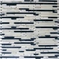 Superslim Carrara Natural stone mosaic tiles