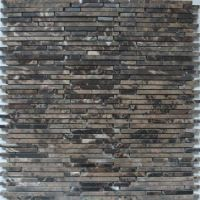 Superslim Emperador Natural stone mosaic tiles