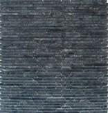 Superslim Negro Natural stone mosaic tiles