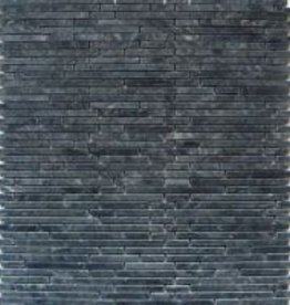 Superslim Negro Natural stone mosaic tiles 1. Choice in 30x30x1 cm