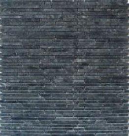 Superslim Negro Naturstein Mosaikfliesen 1.Wahl in 30x30 cm