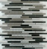Rodio Slim Matal mosaic tiles