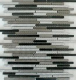 Rodio Slim Metal mozaiki 1 wybór w 30x30x1 cm