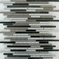 Rodio Slim Metall Mosaikfliesen