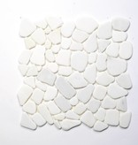 Asia White Natuursteen Mozaïek Tegels