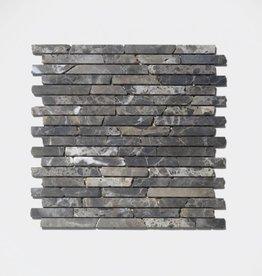 Castanao Emperador pierre naturelle Mosaïque Carrelage 1. Choice dans 30x30x1 cm