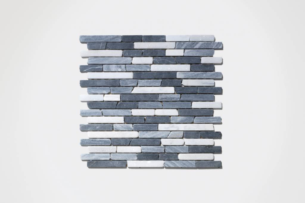 Nero Natural stone mosaic tiles