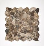 Castanao pierre naturelle Mosaïque Carrelage