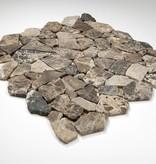 Castanao kamienia naturalnego mozaiki