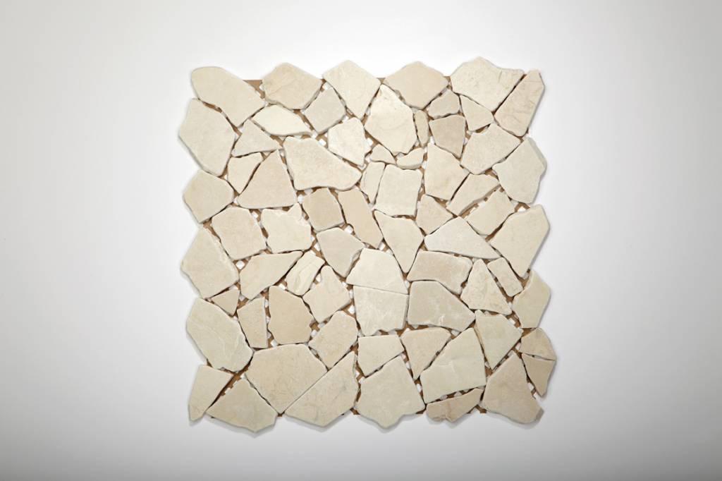 Biancone Naturstein Mosaikfliesen