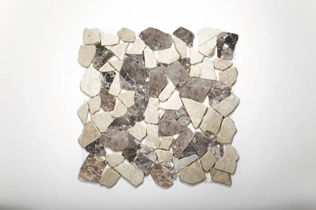 Castanao Cream Natural stone mosaic tiles