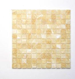 Elegancja Zlote kamienia naturalnego mozaiki 1 wybór w 30x30x1 cm