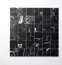 Elegance Black Natural stone mosaic tiles 1. Choice in 30x30x1 cm