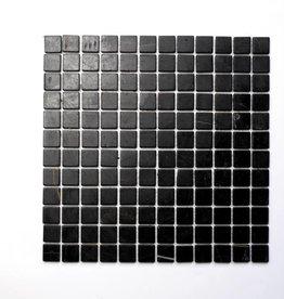 Nero Marquina pierre naturelle Mosaïque Carrelage 1. Choice dans 30x30x1 cm