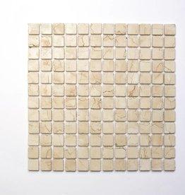 Rosa Perlino kamienia naturalnego mozaiki 1 wybór w 30x30x1 cm