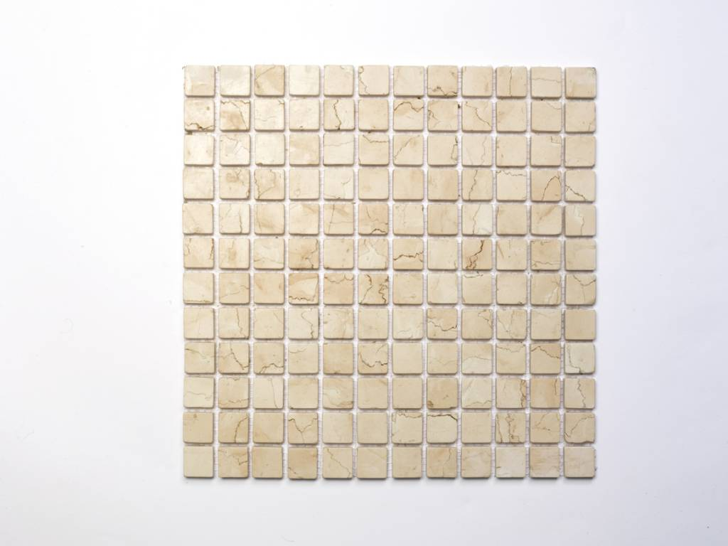Rosa Perlino Mosaik Matte Fur 12 90 Ninos Naturstein Fliesen