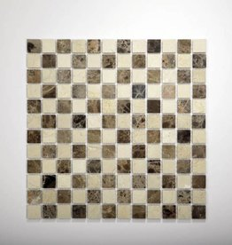 Florence Natural stone mosaic tiles 1. Choice in 30x30x1 cm