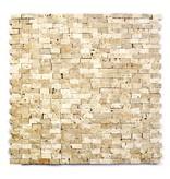 Minibricks Beige Natural stone mosaic tiles