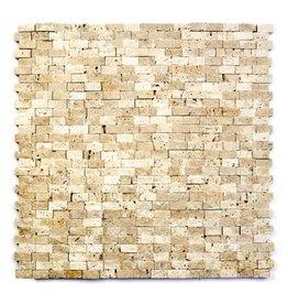Minibricks Beige kamienia naturalnego mozaiki 1 wybór w 30x30x1 cm
