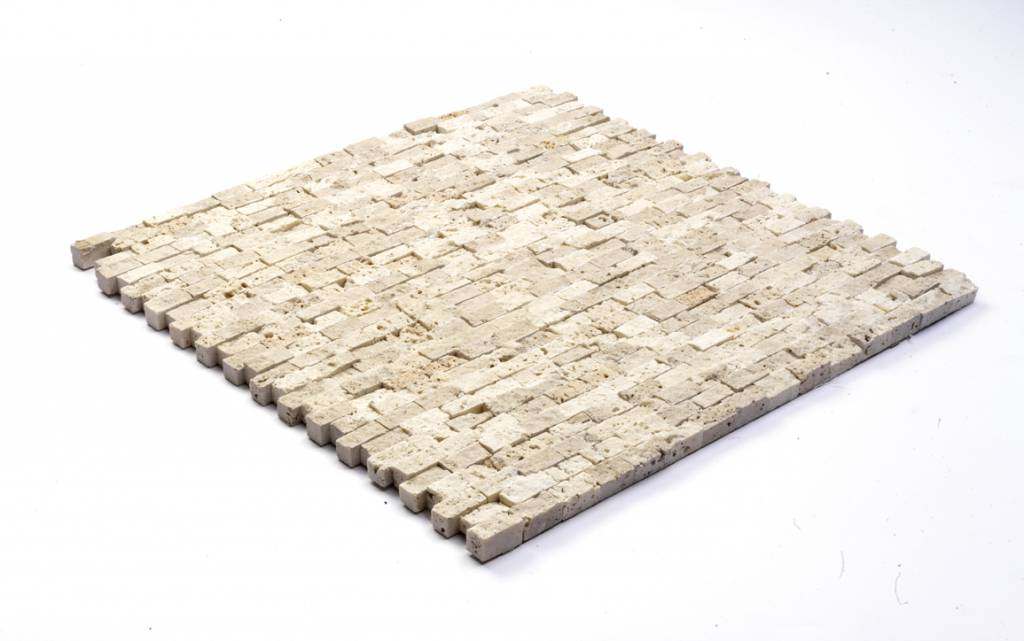 Minibricks Beige pierre naturelle Mosaïque Carrelage