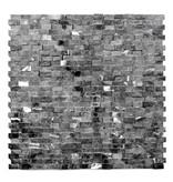Minibricks Nero kamienia naturalnego mozaiki