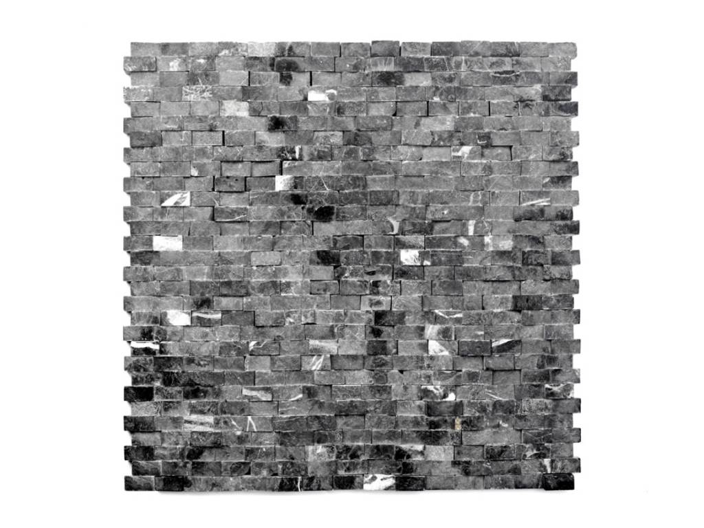 Minibricks Nero Natural stone mosaic tiles