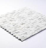 Minibricks Bianco Natural stone mosaic tiles