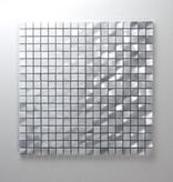 Novo Silber Metall Mosaikfliesen